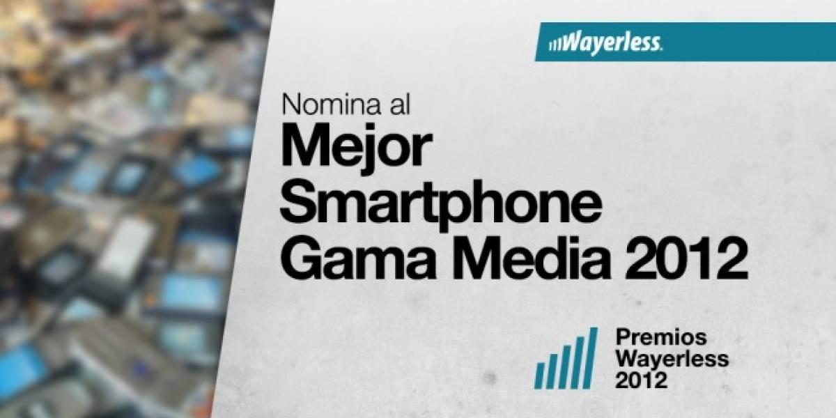Nomina al Mejor Smartphone de Gama Media 2012