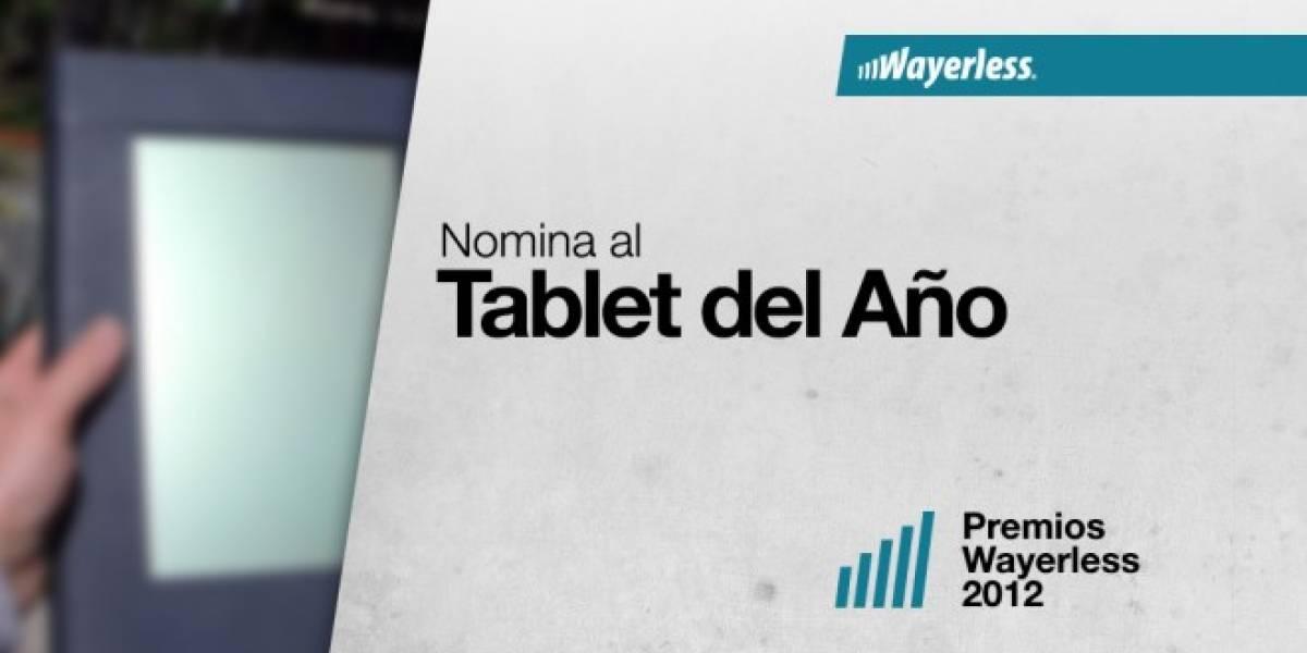 Nomina al Tablet del Año 2012