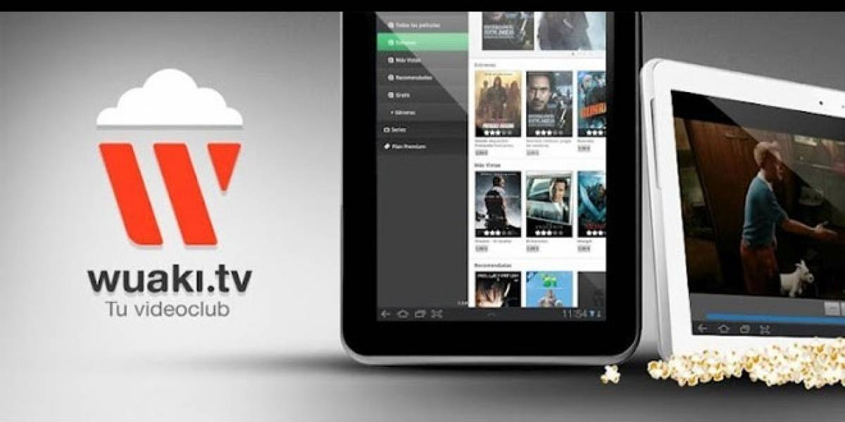 Videoclub español Wuaki.tv estrena aplicación para iPad y tablets Android
