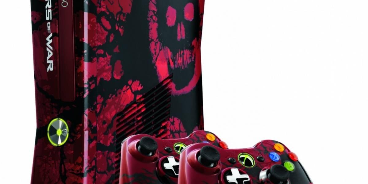 Edición limitada de Xbox 360 de 320 GB a la Gears of War 3