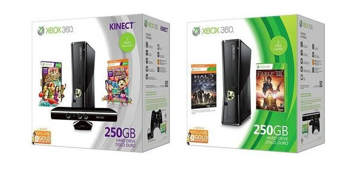 Xbox 360 recibe 2 nuevos bundles
