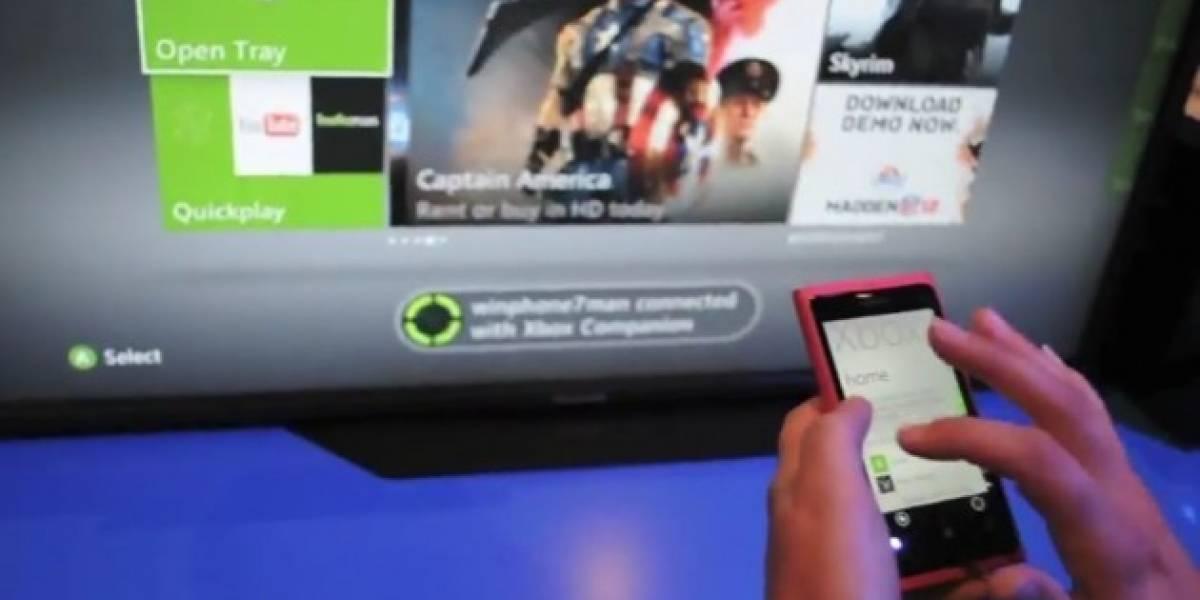 Un nuevo vídeo muestra la integración de WP7 y la Xbox 360