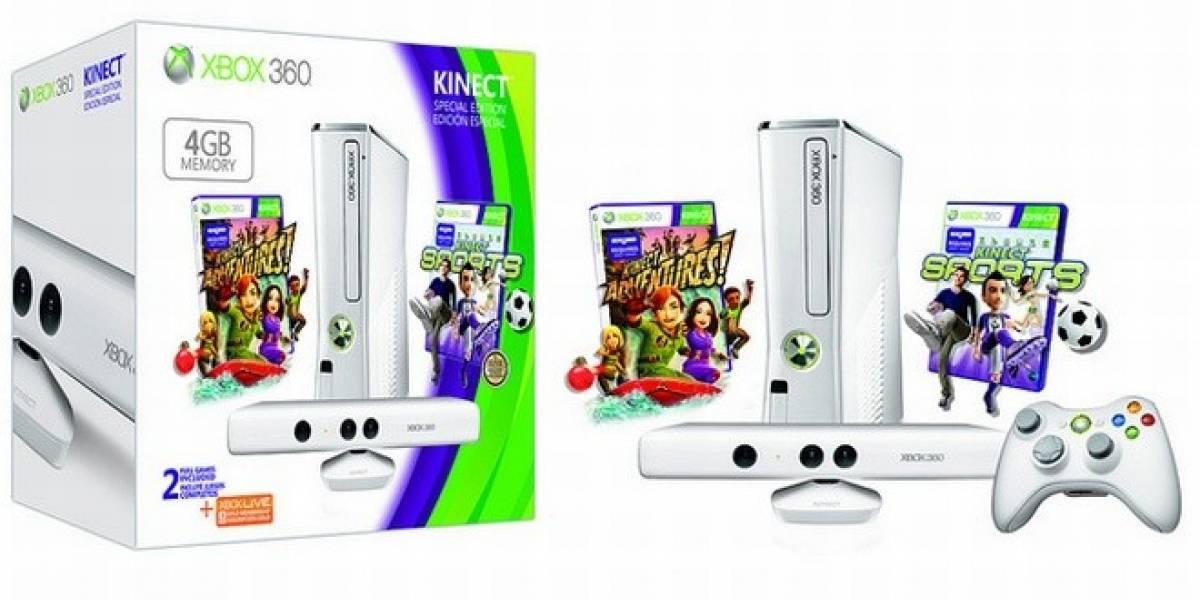 La Xbox 360 vuelve a sus inicios con esta nueva consola blanca