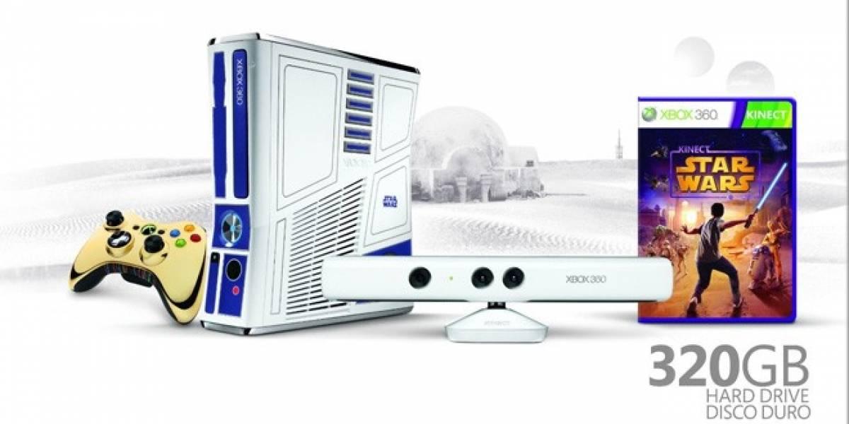 Kinect Star Wars y edición especial de la Xbox 360 aparecerán en abril