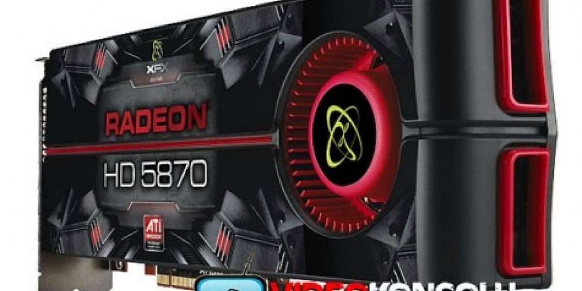 XFX también muestra su Radeon HD 5870