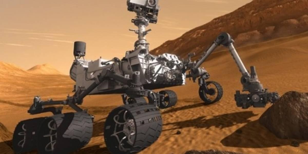 El Curiosity tiene nominalmente un cuarto del poder de un smartphone de gama media
