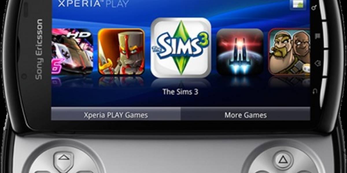 Usuarios de Xperia Play juegan ocho veces más que los demás