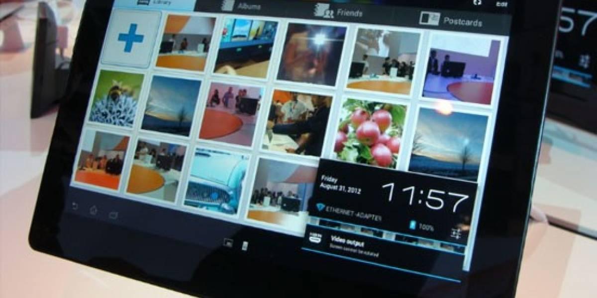 Defectos en la Xperia Tablet S obligan a Sony a detener su producción
