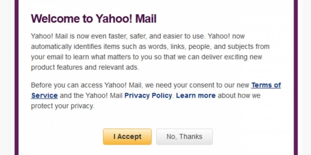 Yahoo Mail deja sin acceso a algunos usuarios