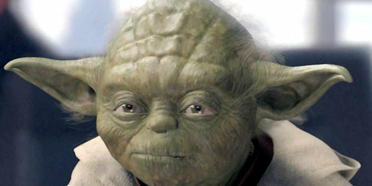 """Así se escucharía a Yoda hablando """"correctamente"""""""