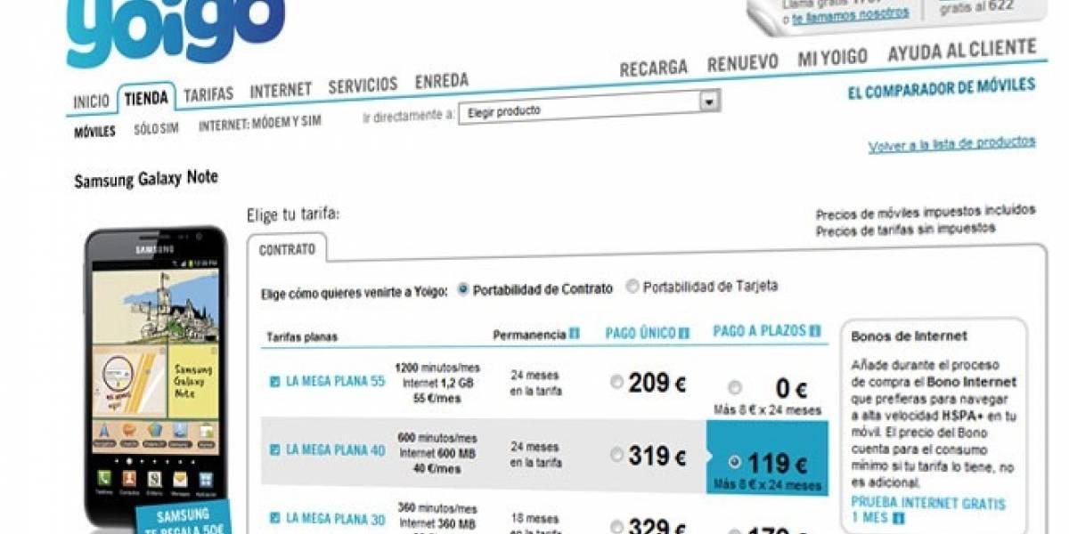 Futurología: Yoigo también dejaría de subvencionar móviles en España