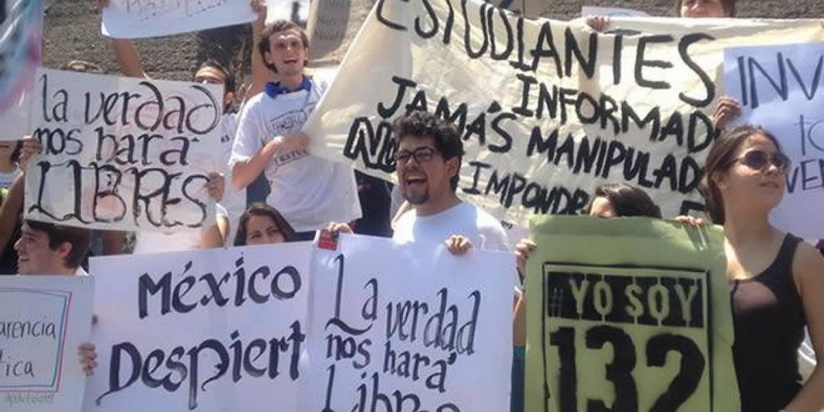 México: #YoSoy132 llega a Cannes