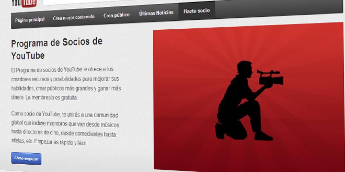 Usuarios de Chile y Perú ahora podrán ganar dinero por YouTube