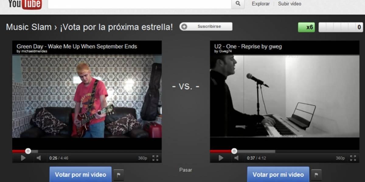 YouTube Slam, comienza la batalla de los videos