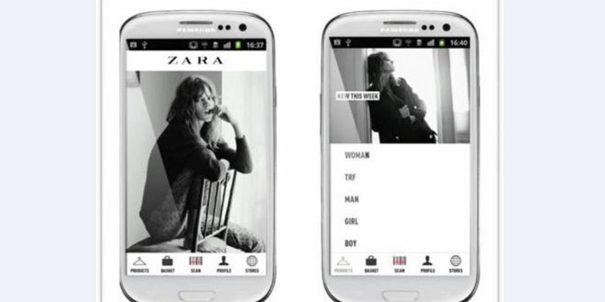 ZARA estrena aplicación Android exclusiva para móviles de Samsung