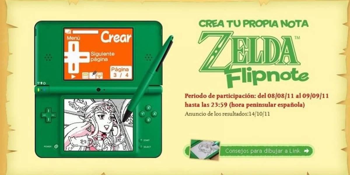 Zelda celebra 25 años con concurso de animación en la DSi
