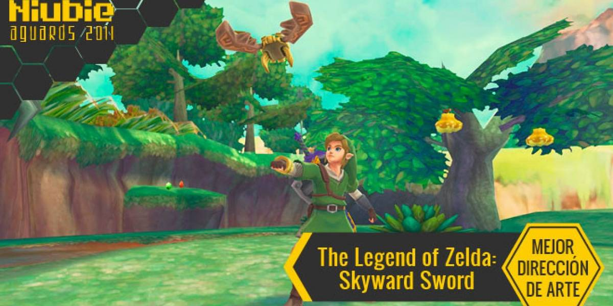 Mejor Dirección de Arte [NB Aguards 11]: The Legend of Zelda: Skyward Sword