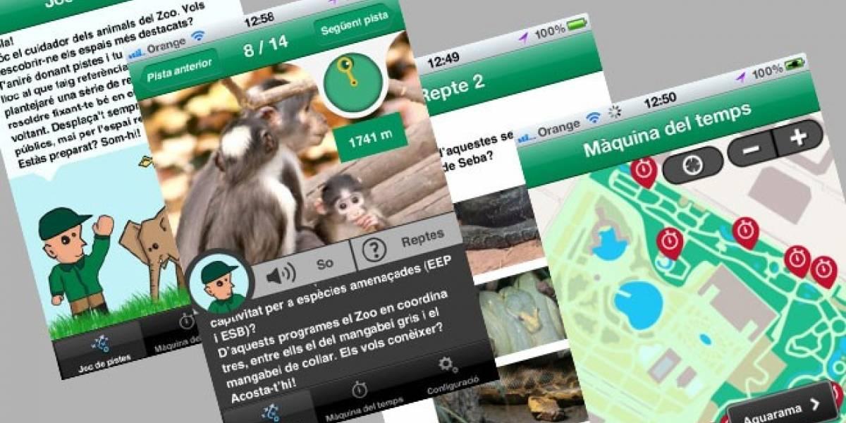 España: Conoce mejor las especies animales con las aplicaciones del Zoo de Barcelona