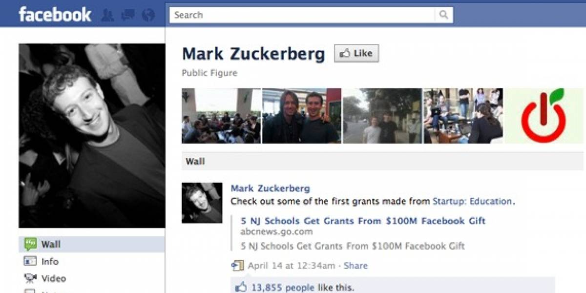 Zuckerberg asciende al tercer lugar de lo más ricos en el mundo de la tecnología