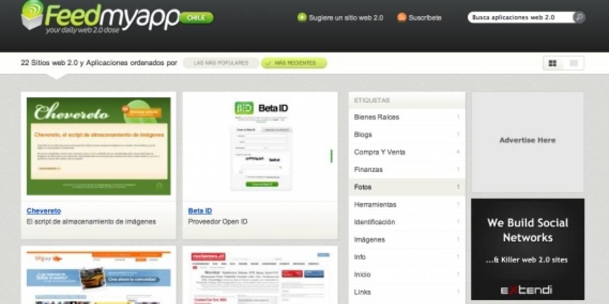 Chile ya tiene su versión de Feedmyapp