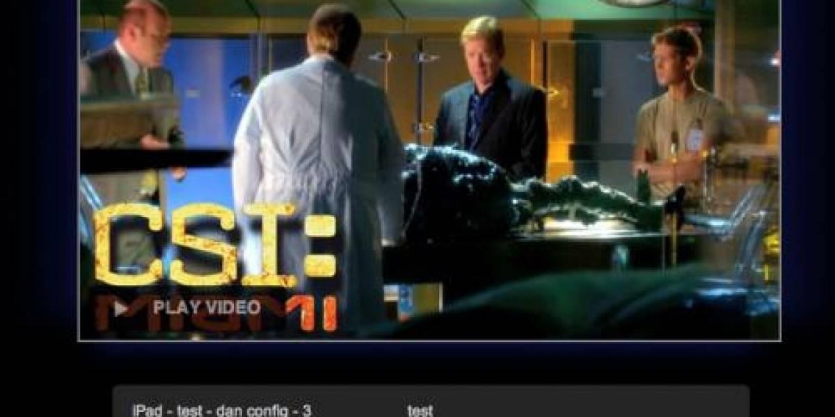 CBS prepara su sitio web en HTML5 para el iPad