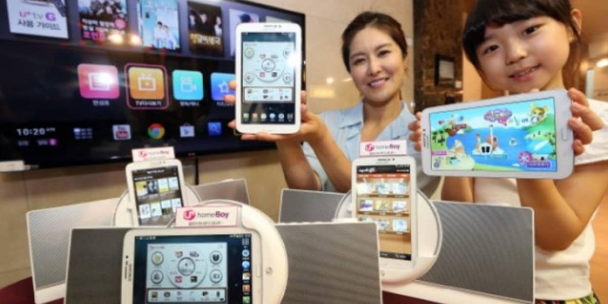 LG lanzó en Corea del Sur un tablet hecho por Samsung