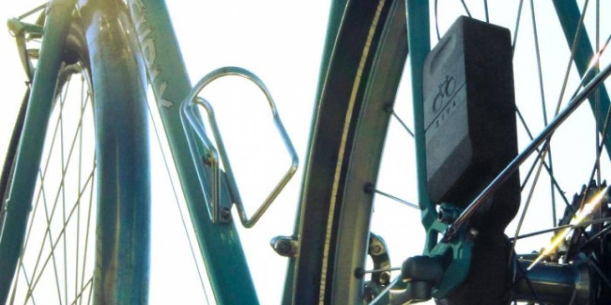 Recarga tus dispositivos USB mientras pedaleas en bicicleta