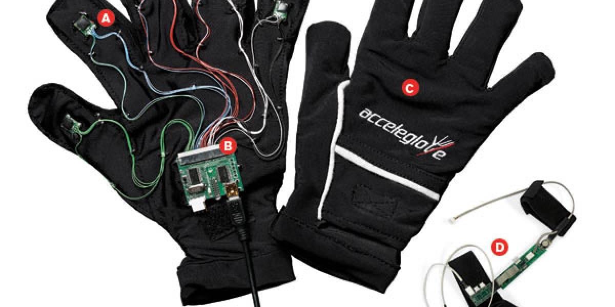 AcceleGlove: Guante programable con acelerómetro