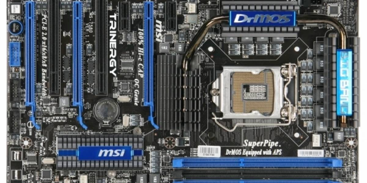 MSI presenta Big Bang Trinergy P55