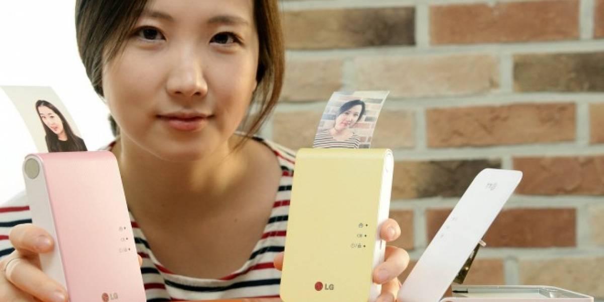 LG presenta la Pocket Photo 2, otra impresora portátil para móviles