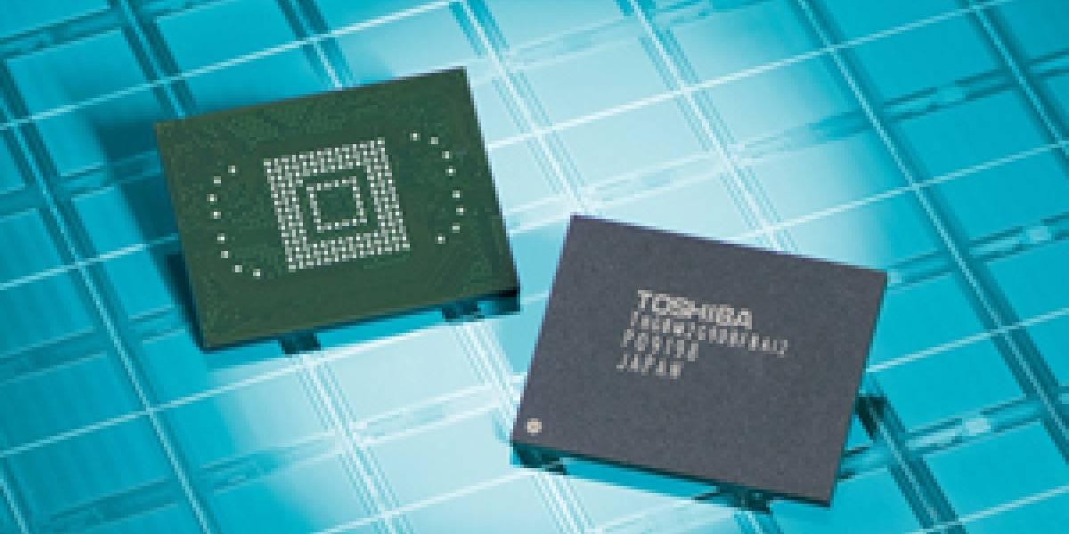 Toshiba ofrecerá NAND Flash de hasta 64 GB