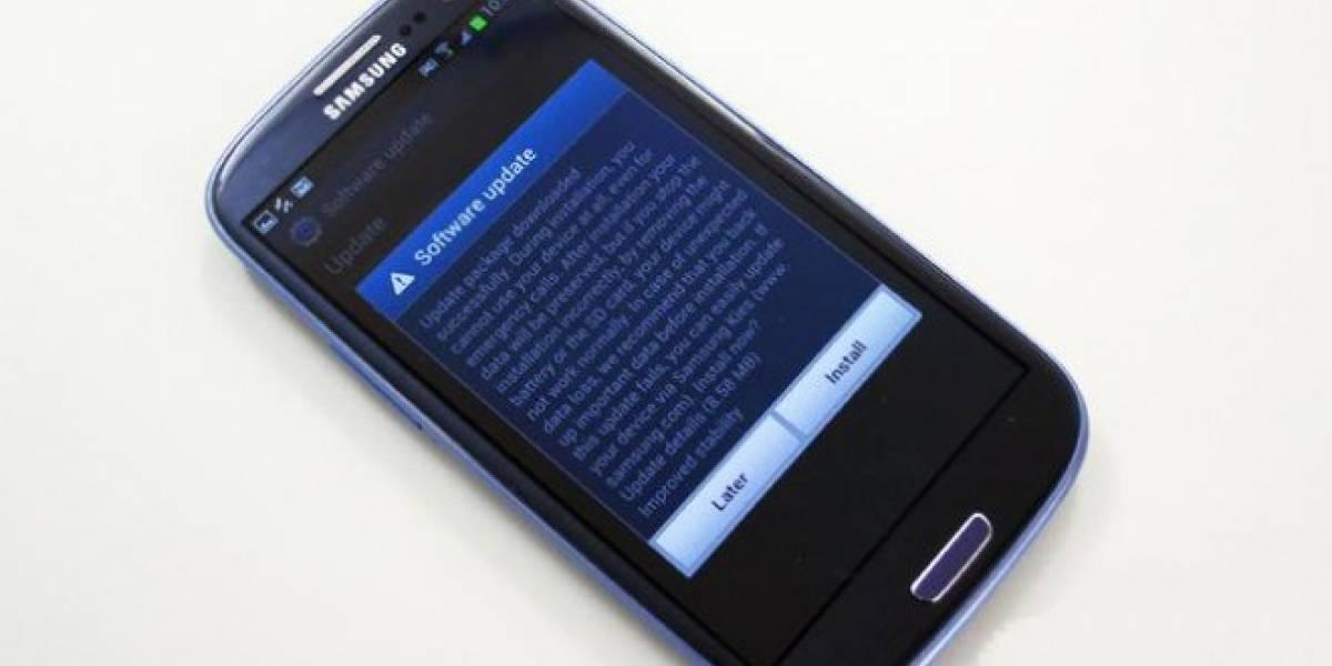 Samsung actualiza Galaxy S3, S4, S4 Mini y Note 3 en Chile
