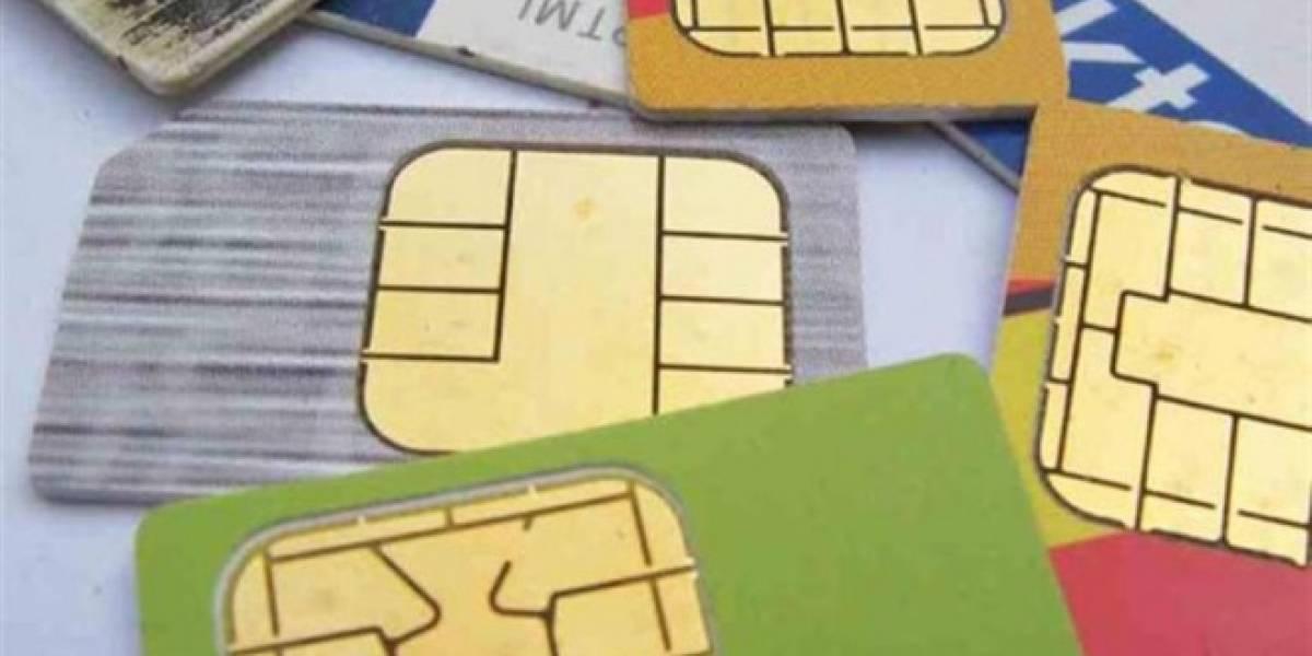 La venta de tarjetas SIM subió un 6% en 2012