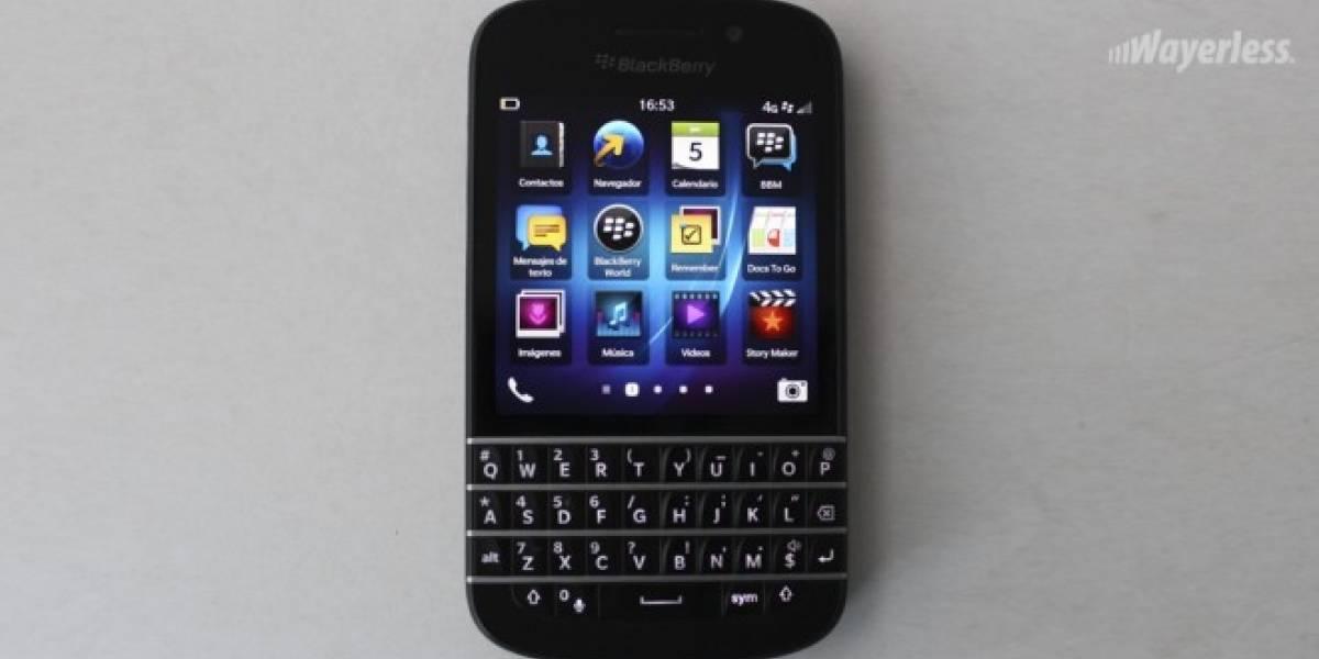 BlackBerry Q10 aterriza oficialmente en España