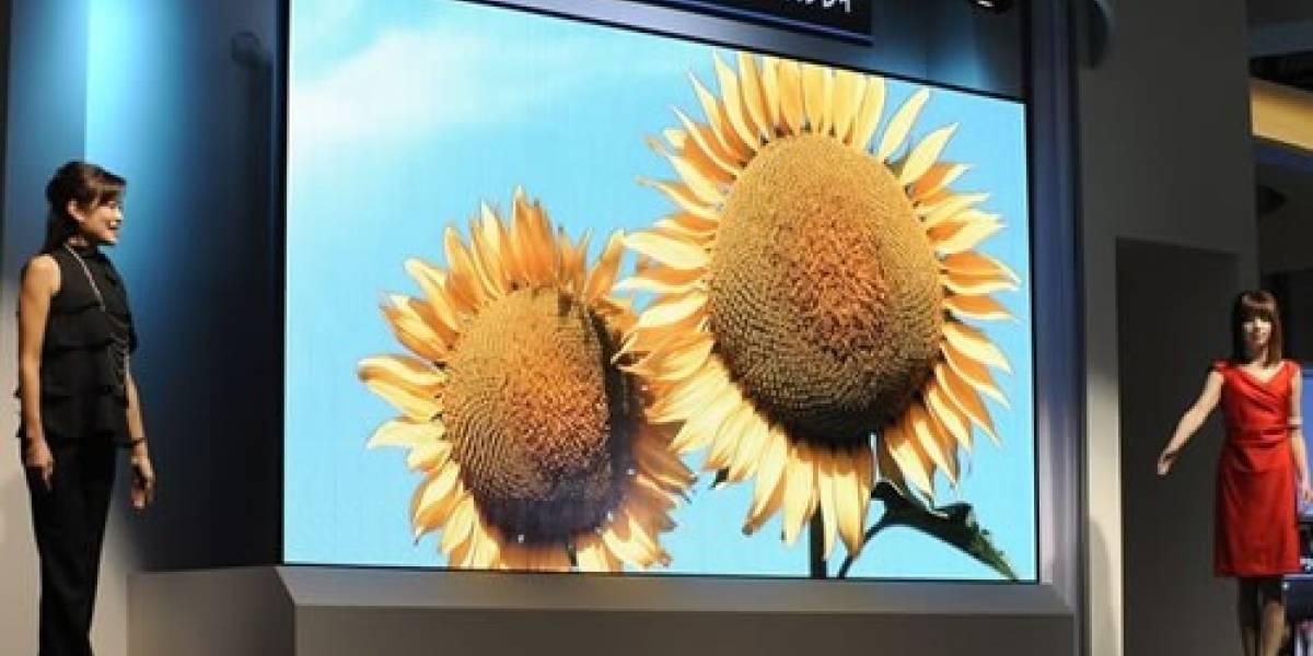 Mitsubishi presentó una pantalla OLED de 155 pulgadas