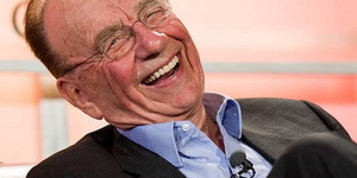 """Rupert Murdoch: """"Tenemos la intención de cobrar por los sitios de noticias"""""""