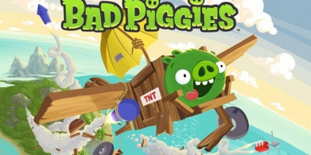 Bad Piggies rompe récords de Rovio en menos de un día