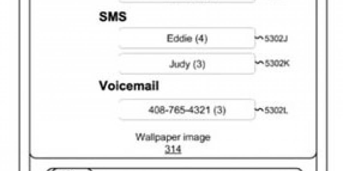 Patente de Apple indica poder usar la pantalla del iPhone aun cuando esté bloqueado
