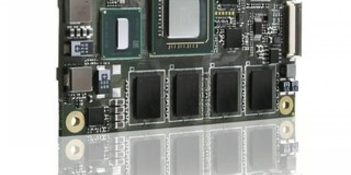 Kontron presenta PC del tamaño de una tarjeta de crédito