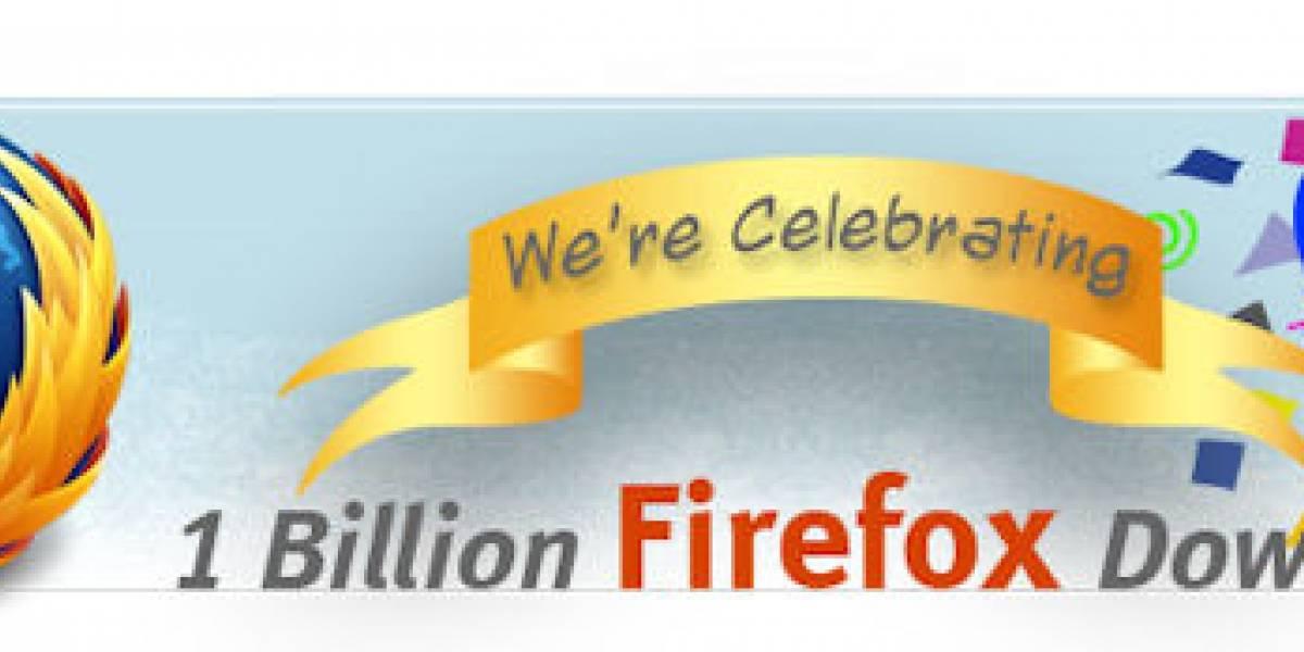 Firefox superó las 1.000 millones de descargas