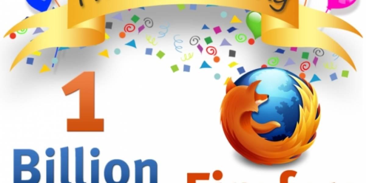 Mozilla se prepara para celebrar la descarga 1.000 millones de Firefox