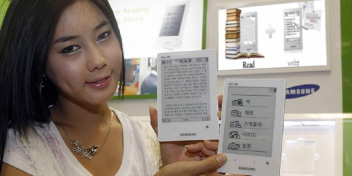 Samsung mostró su primer y pequeño lector de libros electrónicos