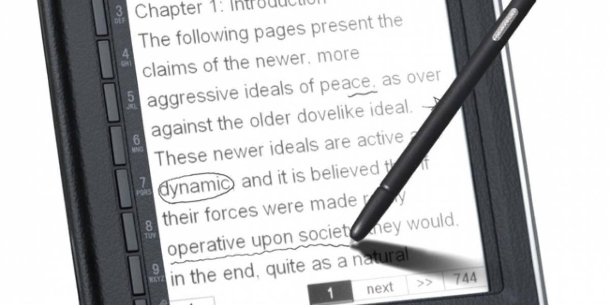 Hexaglot N518: Lector de ebooks con reconocimiento de escritura