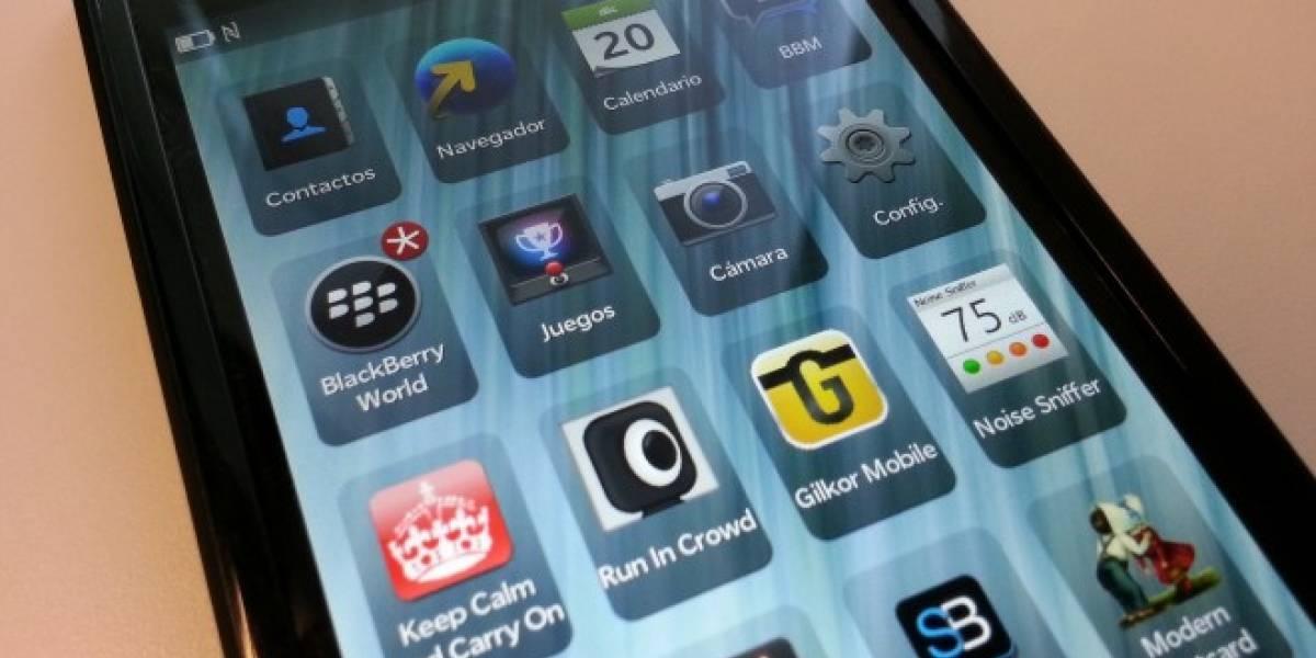 BlackBerry Z10: London comienza a lucir más definitvo