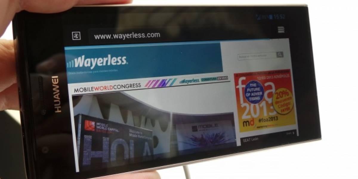 Huawei Ascend P2: La promesa de móvil LTE accesible [A Primera Vista]