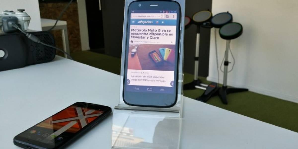 Motorola Moto G ya se encuentra disponible en Movistar y Claro