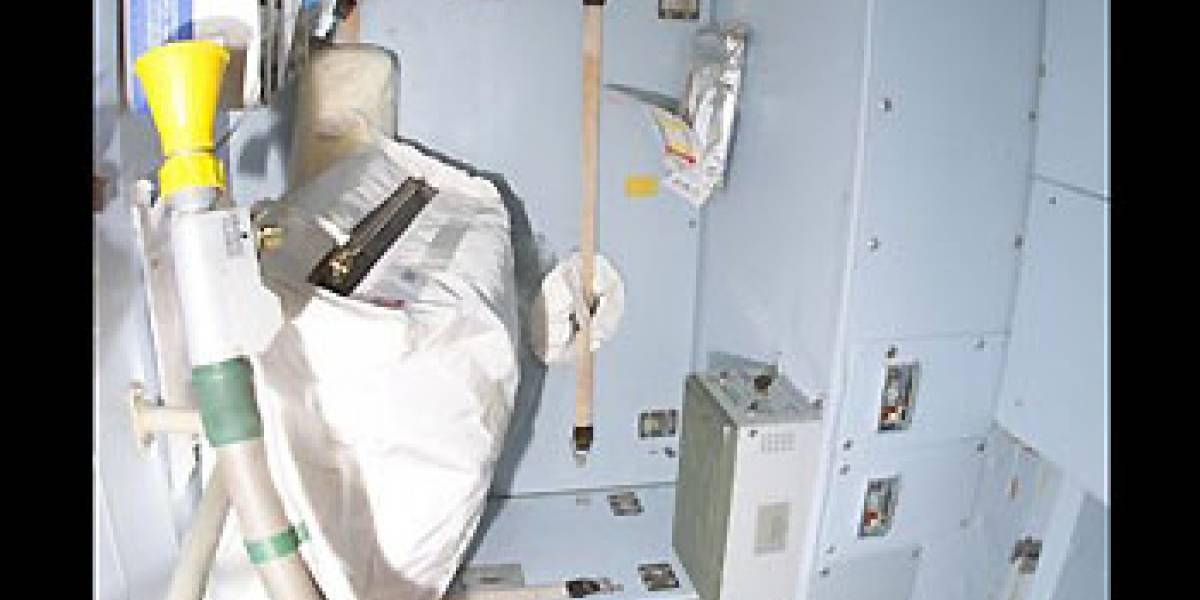 Inodoro de la Estación Espacial pone en aprietos a astronautas