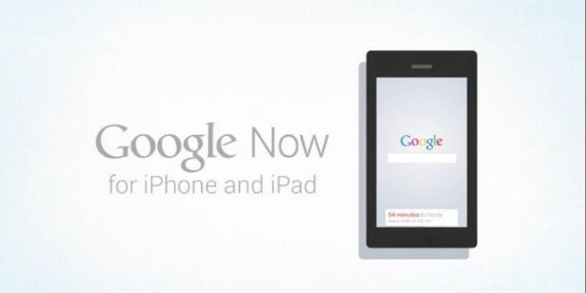 Google Now para iOS, disponible desde App Store