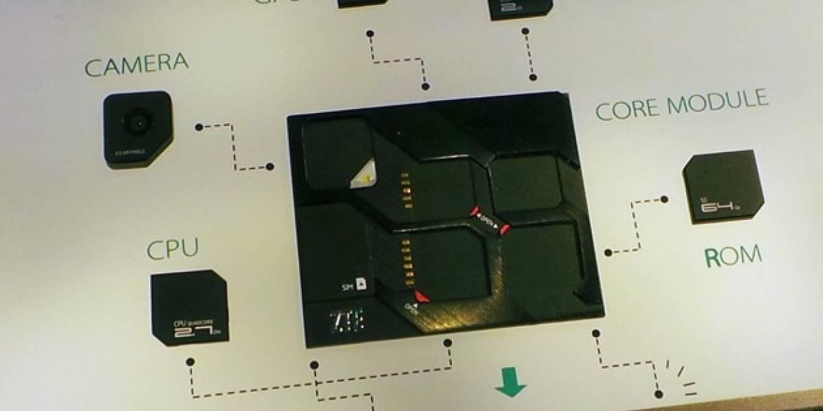 ZTE también prepara sus propios equipos modulares #CES2014