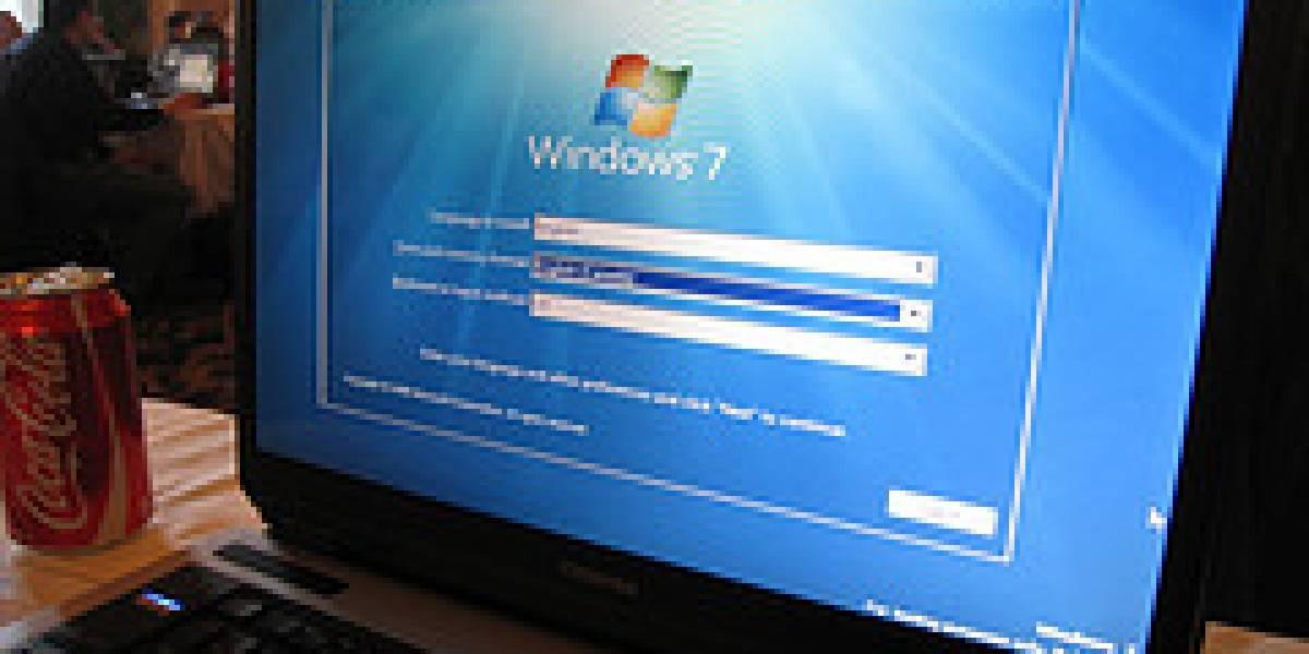 Windows 7 ya se encuentra en el 1% de los computadores